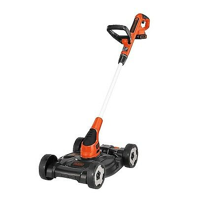 BLACK + DECKER MTC220 12-Inch Lithium Cordless 3-in-1 Trimmer/Edger and M... New