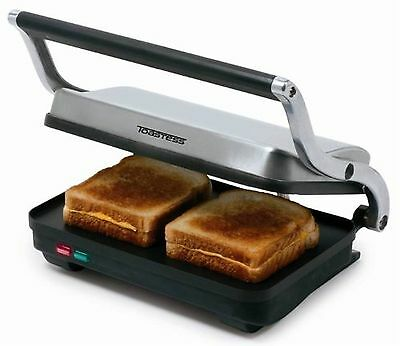 Toastess Sandwich Grill Stainless Steel New