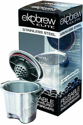 Ekobrew Refillable K-Cup For Keurig K-Cup Brewers Stainless Steel Elite 1... New