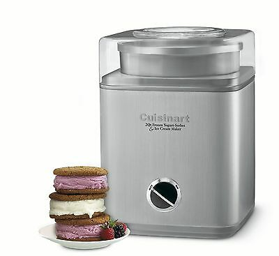 Cuisinart ICE-30BCC Pure IndulgenceTM Frozen Yogurt-Ice Cream & Sorbet Ma... New