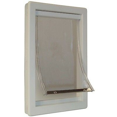 Perfect Pet 5-Inch by 7-Inch Soft Flap Cat Door with Telescoping Frame Sm... New