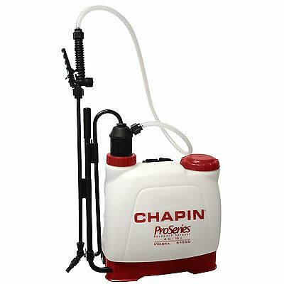 Chapin 61500 Euro Style Backpack Poly Sprayer 4-Gallon New