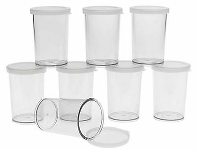 Cuisipro 837420 Donvier Yogurt Maker Jars Set of 8 Clear New