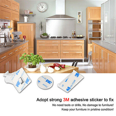 10PCS Magnetic Cabinet Locks Child Proof Drawers Cupboards Invisible Baby Safety