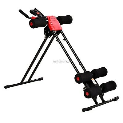 Abdominal Exercise Machine Trainer Abs Toner Workout Ab Shaper Fitness Foldable