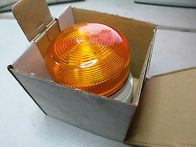 XENON BEACON Amber Flashing -- Surface Mount 12Vdc or 24Vdc - 309-5770