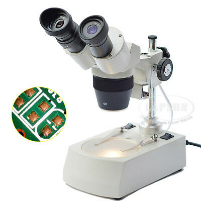 20X-40X Stereo Binocular Microscope for Mobile Phone Repair with LED Top Light K