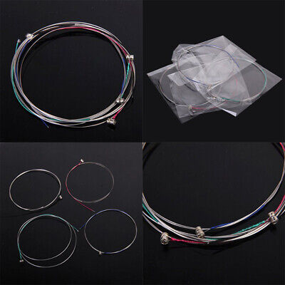 1 Set of Violin Steel Strings E A D G Replacement For 3/4 - 4/4 Common Size *