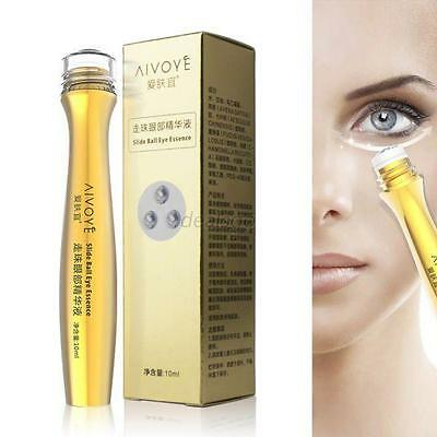 Women 24K Gold Collagen Anti-Dark Circle Wrinkle Firming Roll-on Eye Cream 10ml