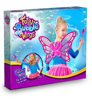 Fairy Bubble Wings - Magical Bubble Maker with wand pink