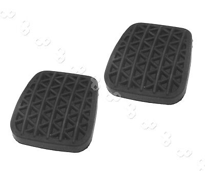 2pcs Black Clutch Or Brake Pedal Pad Rubber Cover For Astra G MK4 OEM 560775