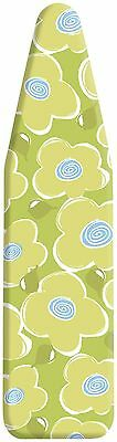 Whitmor 6467-833-PETAL Ironing Board Deluxe Cover and Pad Petal Power Des... New