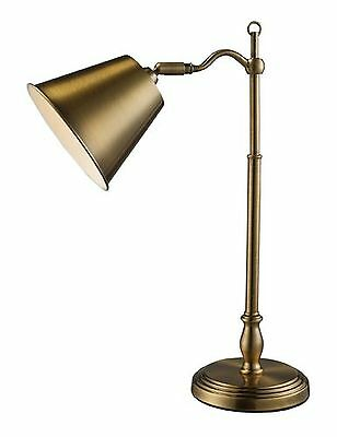 Dimond D1837 11-Inch Width by 19-Inch Height Hamilton Desk Lamp in Antiqu... New