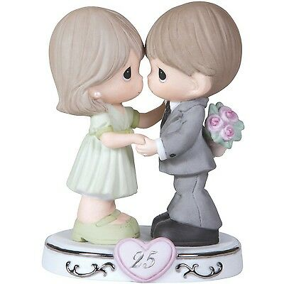 Precious Moments Through The Years 25th Anniversary Figurine New