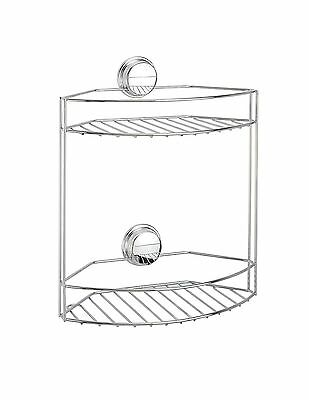 Better Living Products Twist N Lock Plus 2-Tier Basket for Bathroom New