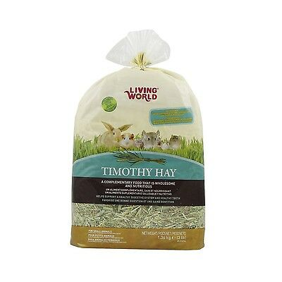 Living World 61214 Timothy Hay X-Large 1.36kg (3-Pound) New