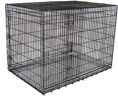 Go Pet Club MLD-48 48-Inch Metal Dog Crate with Divider New