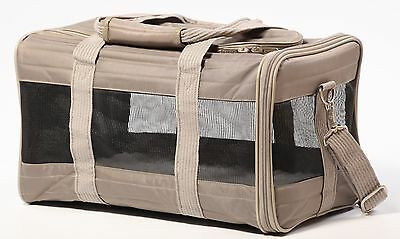 Sherpa 55540 Original Deluxe Pet Carrier Small Gray New