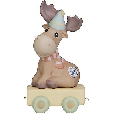 Precious Moments Birthday Gifts You Mean The Moose To Me Birthday Train A... New