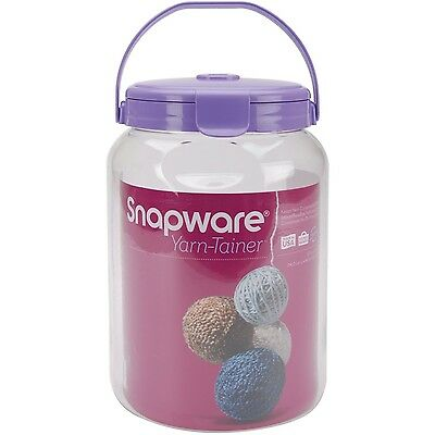 Snapware Yarn Tainer Small-8-Inchx5.5-Inch Clear New