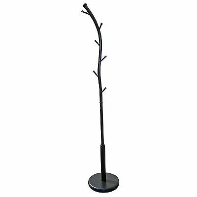 Ore International R672BK Six Foot Black Metal Coat Rack New