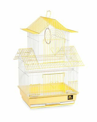 Prevue Hendryx SP1720-1 Shanghai Parakeet Cage Yellow and White Teal and ... New