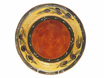 Certified International French Olives 12-1/2-Inch Pasta/Serving Bowl New