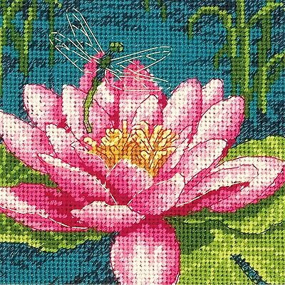 Dimensions  Crafts Needlepoint Kit Dragon Lily New