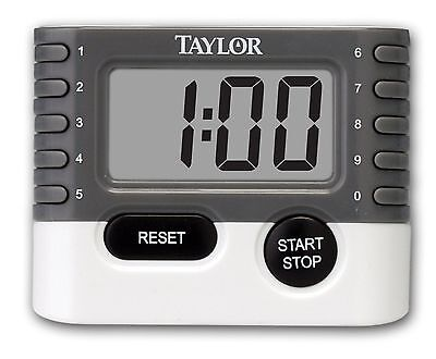 Taylor 5829 10-Key Digital Timer New
