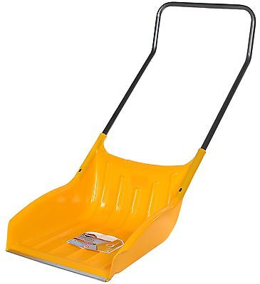 Alpine APSS22 Poly Sleigh Shovel with Wear Strip Steel Handle Yellow New