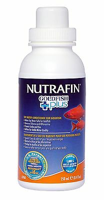 Nutrafin Goldfish Plus Water Conditioner 8.4-Ounce New