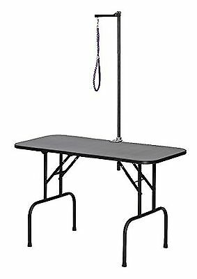 Midwest Home For Pets G3624A Plywood Grooming Table with G3ZA48 Arm New
