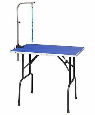 Go Pet Club Pet Dog Grooming Table with Arm 30-Inch New