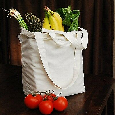 AUNT MARTHA's 17-Inch by 15-Inch Reusable Cotton Grocery Bag Aunt Martha's New