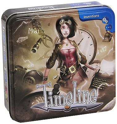 Asmodee Editions Timeline New
