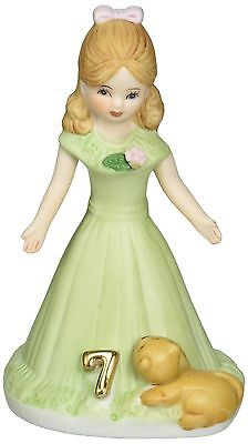 Growing up Girls from Enesco Brunette Age 7 Figurine 4.5 IN New