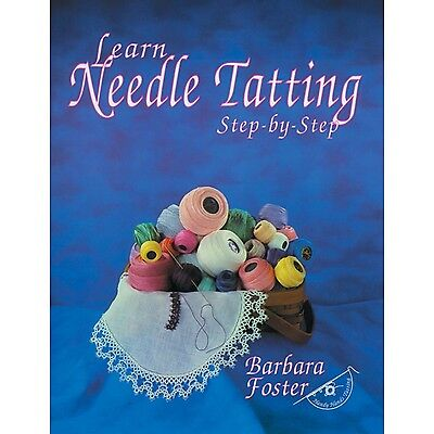 Handy Hands HA-43201 Craft Supplies Learn Needle Tatting Step by New