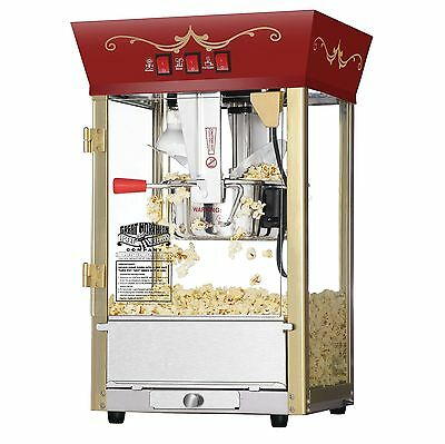 Great Northern Popcorn Red Matinee Movie Theater Style 8-Ounce Antique Po... New