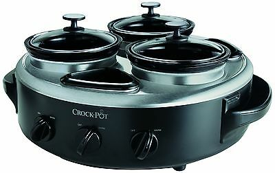 Crock-Pot Triple Dipper New