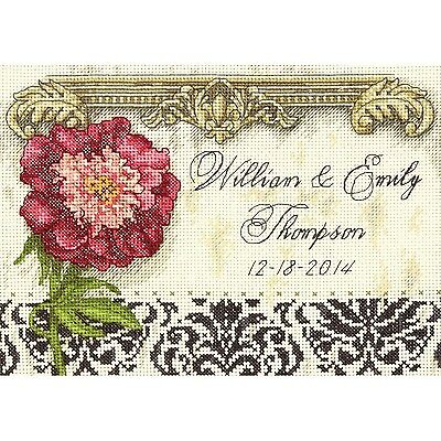 Dimensions Crafts 70-65138 Elegant Wedding Record Counted Cross Stitch Kit New