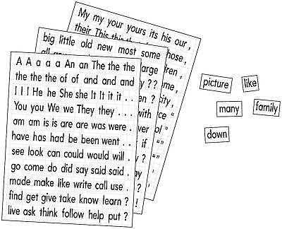 Educational Insights Magnetic Sight Words and Sentence Builders New