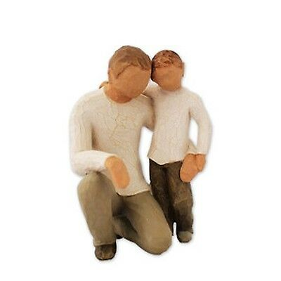Demdaco DD26030 Willow Tree Father and Son Figurine New