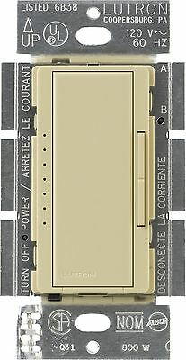 Lutron MACL-153M-IV Maestro Multi-Location CFL/LED Digital Dimmer Ivory 1... New