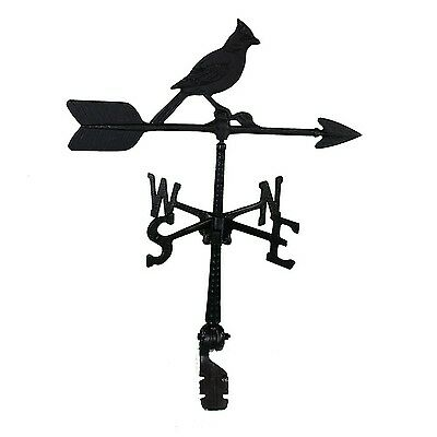 Montague Metal Products 24-Inch Weathervane with Cardinal Ornament New