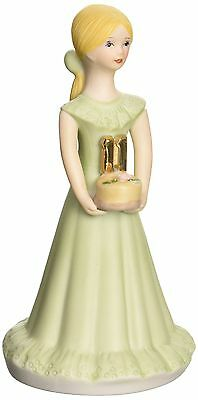 Growing up Girls from Enesco Blonde Age 11 Figurine 5.5 IN New