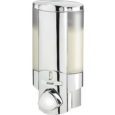 AVIVA 76140-1 Single Bottle Shower Dispenser Chrome New