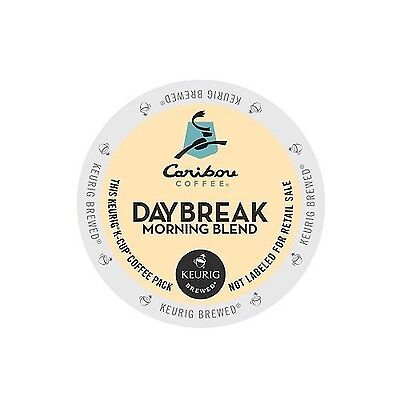 Caribou Coffee Daybreak Morning Blend K-Cups for Keurig Brewers 24-Count New