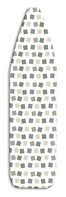 Whitmor 6614-833 Deluxe Ironing Board Cover and Pad Modern Blocks New