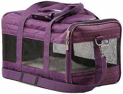 Sherpa 55545 Original Deluxe Pet Carrier Large Plum New