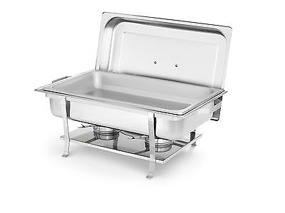 Artisan Stainless Steel Chafer 8-Quart Value II Welded Frame Small New